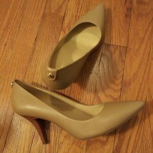 NEW! Michael Kors Flex Saffiano Leather Pumps